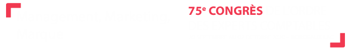 75e Congres de l'ordre des experts-comptables - Bordeaux Lac - 30 septembre 2 octobre 2020